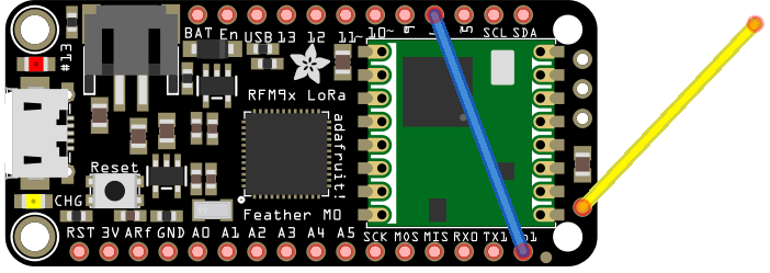 Adafruit Feather M0 LoRa on The Things Network - Werktag Blog